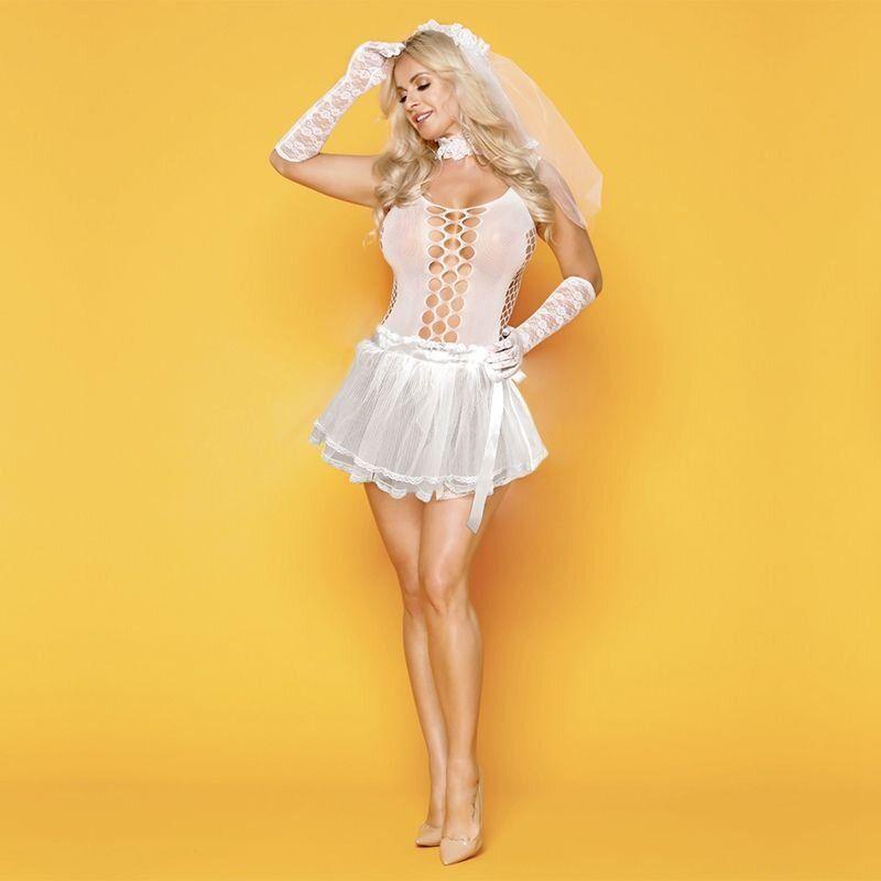 эротическое пышное платье